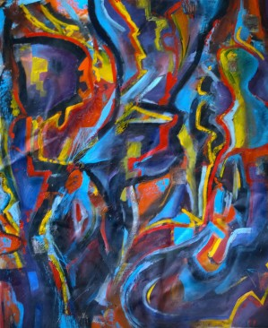 Find Me, Oil on Canvas, 24x30, 2012, From the Private Collection of William Webber