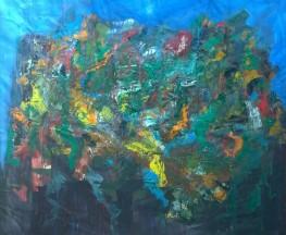 Growth, Oil on Canvas, 73x84, 2016