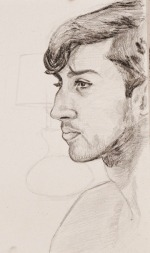 Sean, Graphite on Paper, 11x14, 2012