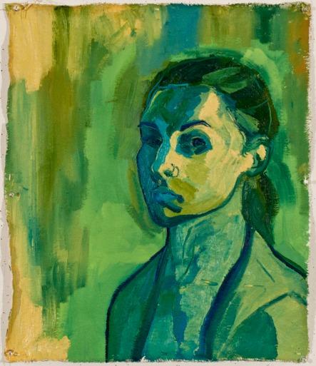 Van Giel, Oil on Canvas, 24x24, 2011
